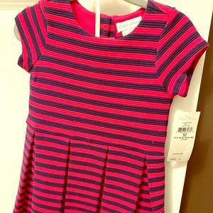 Ralph Lauren pink/navy stripe dress